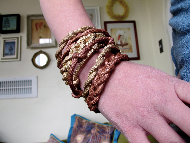 Rope bangles