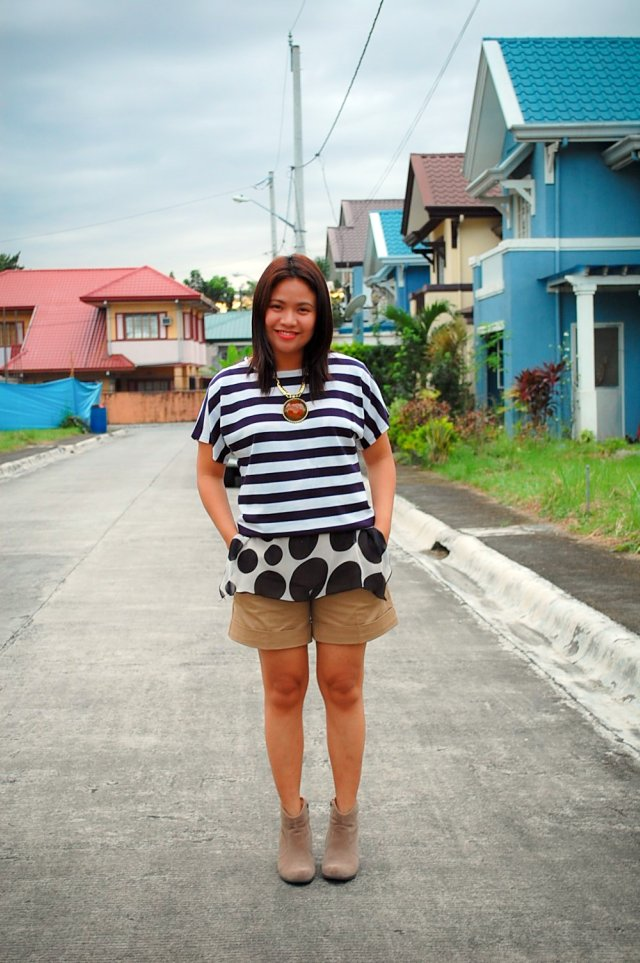 stripes and dots, denise katipunera, pinay fashion blogger, mommy blogger, style on a budget