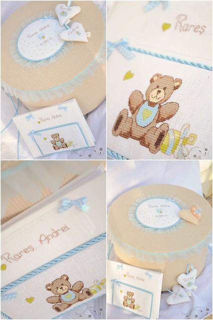 cutie trusou si carte oaspeti personalizate - trousseau box and guestbook