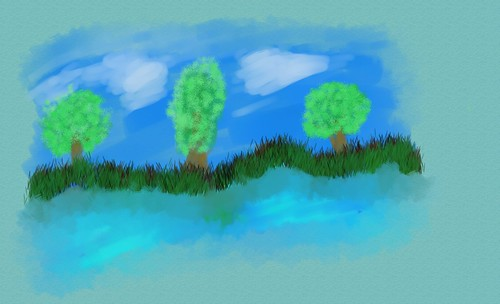 trees&grass