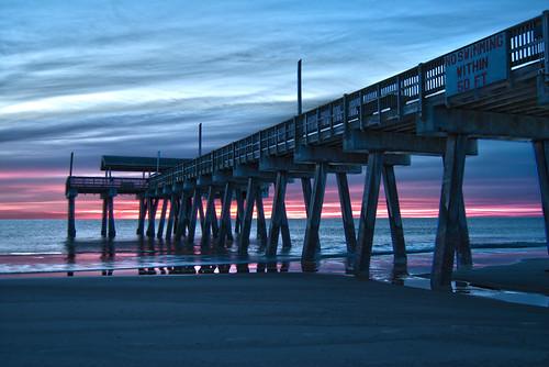 Tybee Island Pier Sunrise