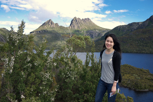 With Cradle Mountain