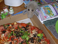 Dust Mite & pizza