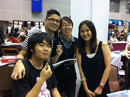 Comic Fiesta Booth Crew