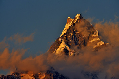 Machapuchare @ Dhampus, Nepal