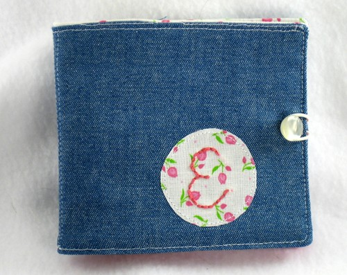 Simple Wallet by elizabeth's*whimsies