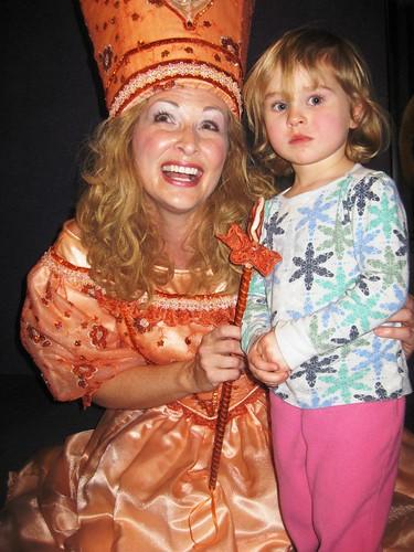 Lucy and Glenda (the princess??)