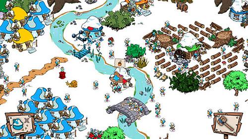 Descargar Smurfs Village Android Los Pitufos