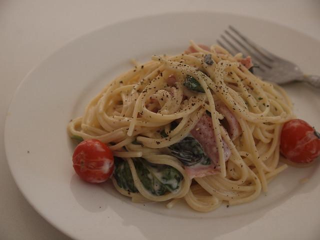 donna hay's BLT spaghetti