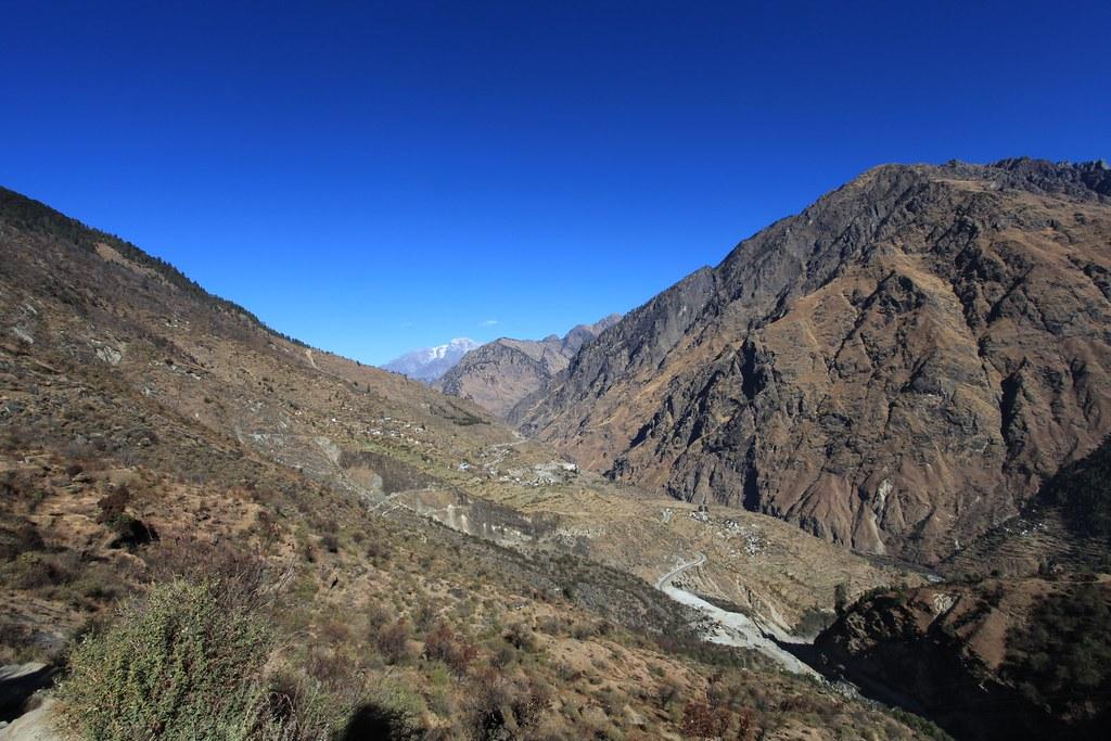Dhak Village and Nar Parbat