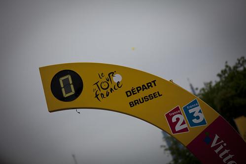 Tour de France 2010 - Départ Brussel