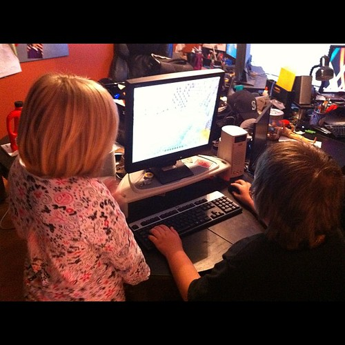 365 - Minecraft is the new addiction around here. I don't get it. by SpaceyMom