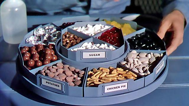1956 ... space food!