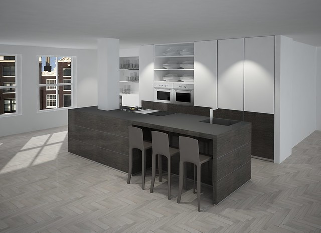 Keuken eiland voorbeeld flickr photo sharing - Voorbeeld keuken in l ...