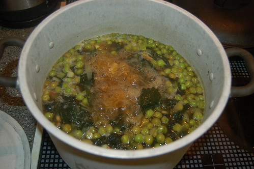 nettle and pea soup Jan 12 1