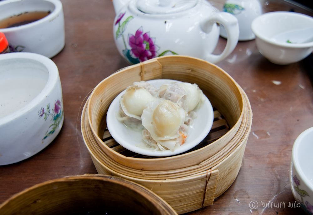 Dim Sum with egg