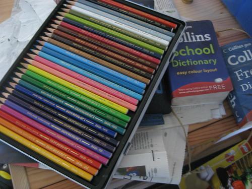 Cam's Caran D'Ache pencils