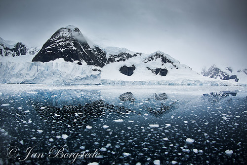 Mountains at Paradise-Bay, Antarctica
