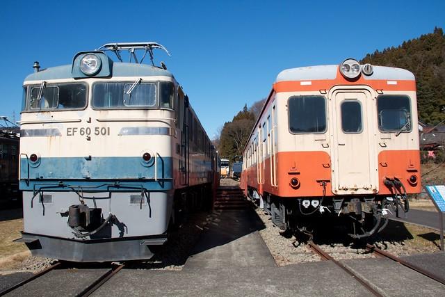 EF60&キハ20系