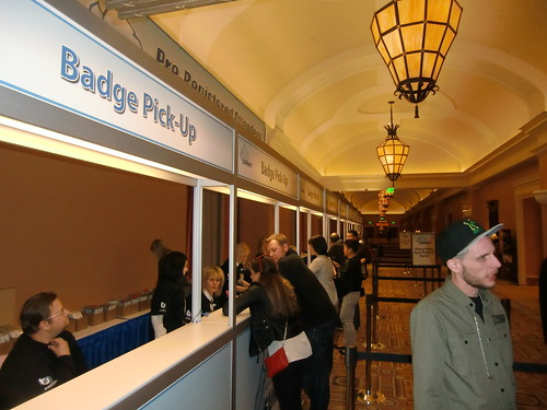 Affiliate Summit West 2012 Badge Pick-Up