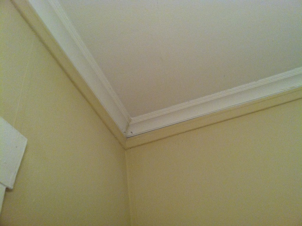 Unpainted Crown Molding