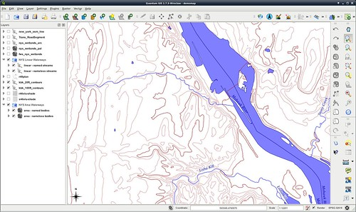 Added hydrography to basemap