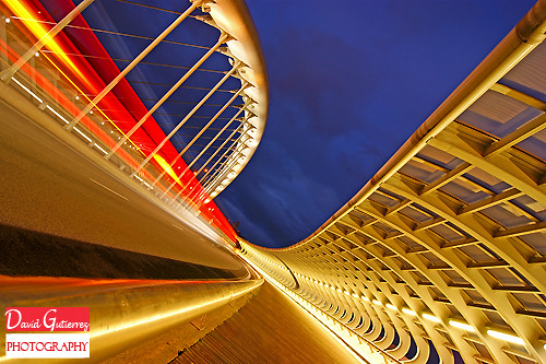 Bilbao Architecture and Lights