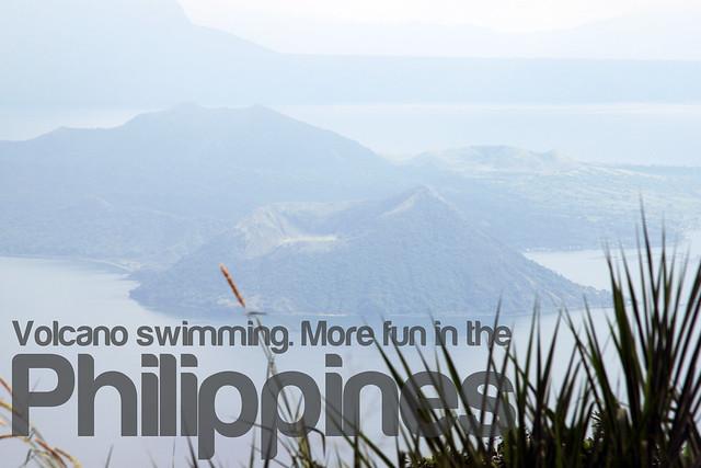 Volcano Swimming