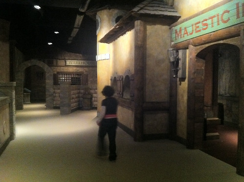 The Village realm at the magiquest castle in pigeon forge