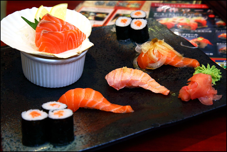 salmon-zukushi