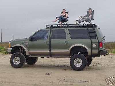 Safari Roof Rack Ford Excursion