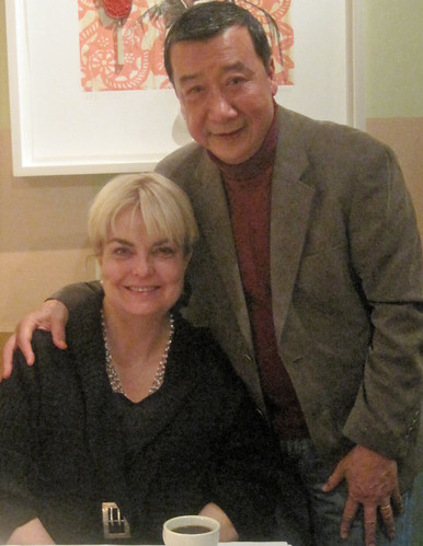 Carolyn Phillips and her Chinese husband