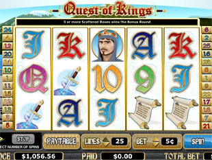 Quest of Kings slot game online review