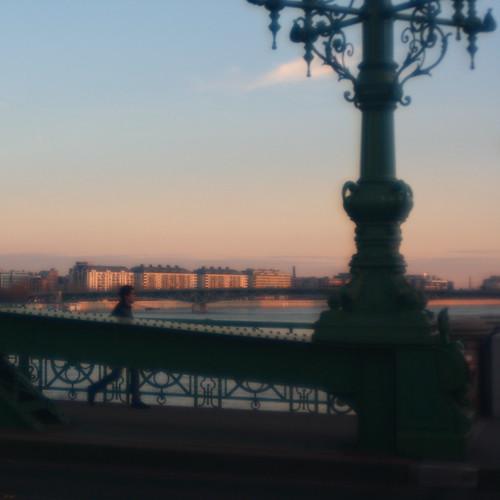 View over Szabadság híd