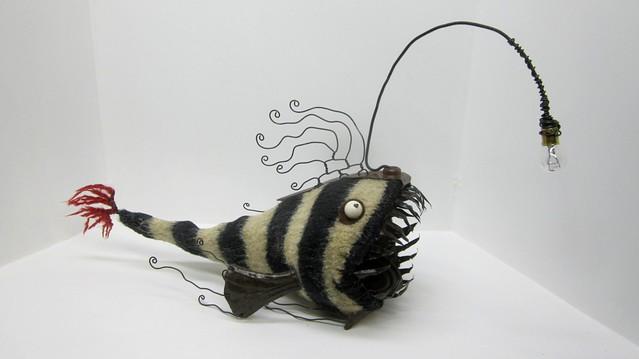 Deep sea angler fish flickr photo sharing for Angler fish toy