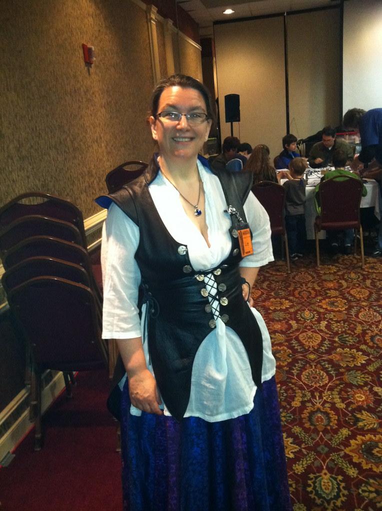 God, I love that corset.