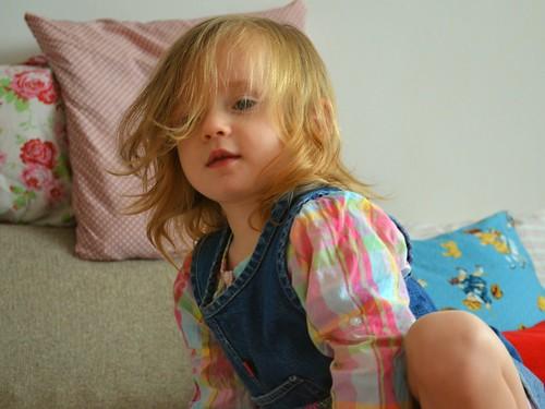 Die blonden Engelshaare dienen meinem Kleinkind nur zur Tarnung :)
