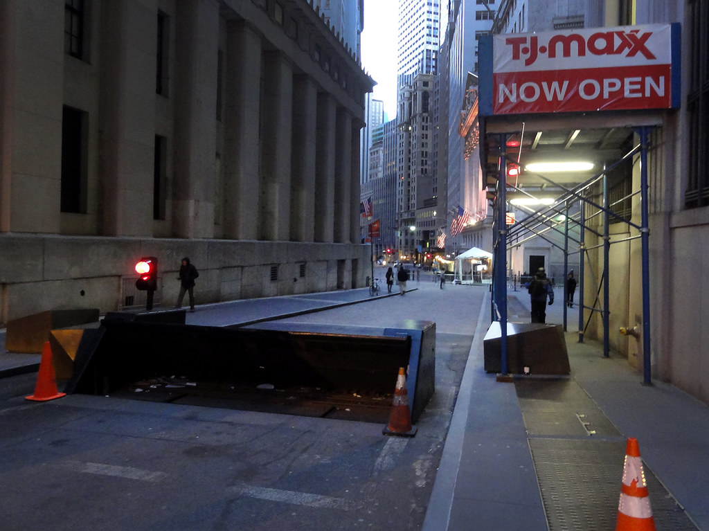 Downtown New York City Two Months After Zuccotti Park Raid