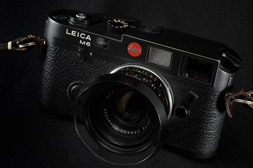 Leica M6 with Summilux 35mm F1.4