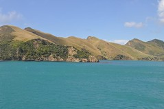 Marlborough Sounds sortint de Picton