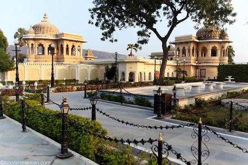 Gardens on Jagmandir Island