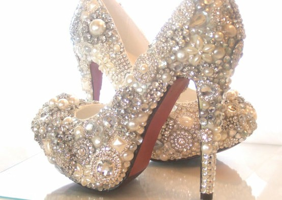 Bejewelled Louboutins