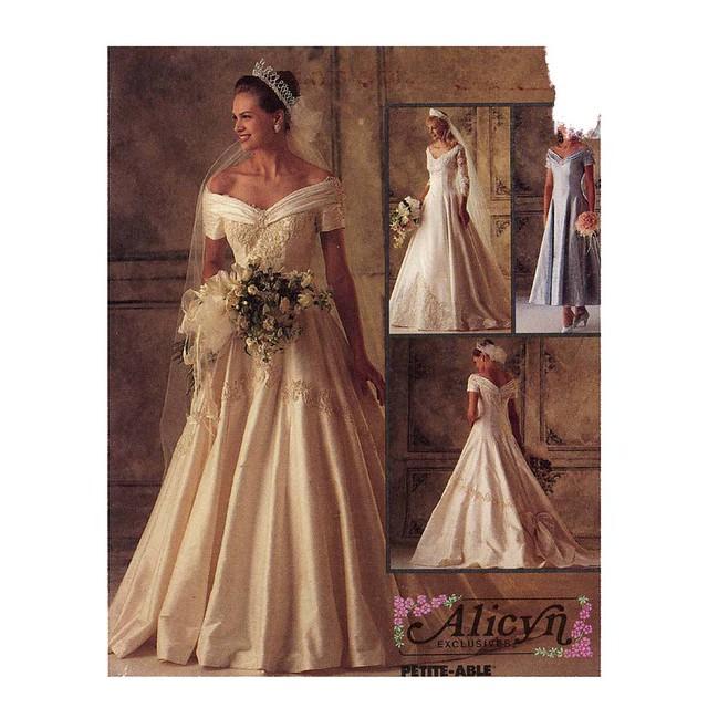 Mccalls 6951 wedding dress pattern flickr photo sharing for Wedding dress patterns mccalls