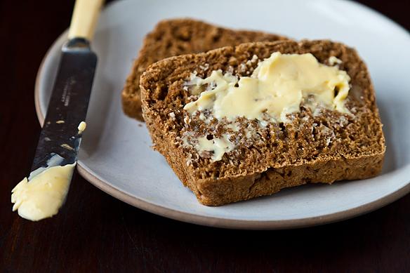 Walnut-sage Anadama Bread