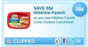 Hillshire Farm Lower Sodium Lunchmeat Coupon