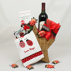 To My Little Love Bug Valentine's Day Gift Basket
