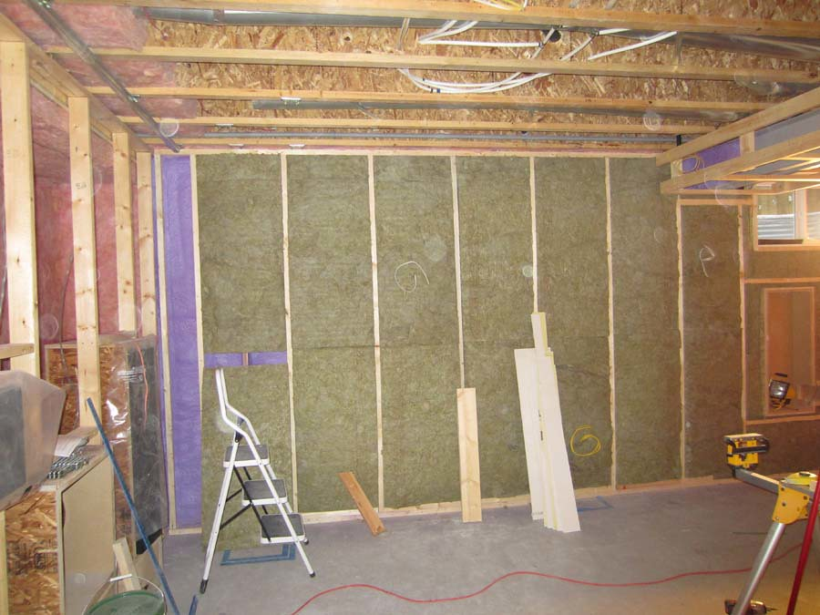 An aspen woods theater page 2 avs forum home for Roxul insulation vs fiberglass insulation