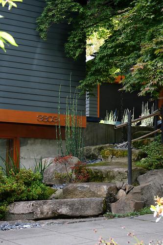 japanese style stone steps