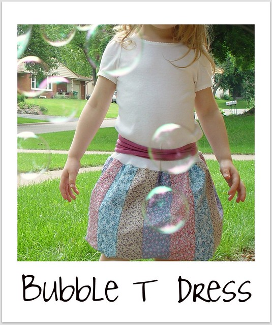 bubble T dress