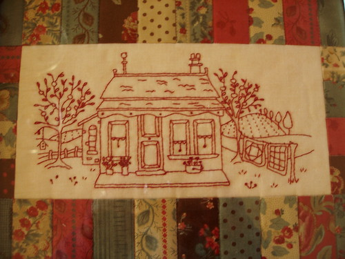 Quilter Cottage by Catherine Baynes